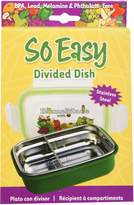 So Easy Stainless Steel Divided Dish with Lid