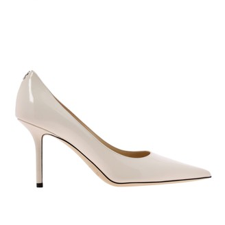 Jimmy Choo Love Pumps In Patent Leather