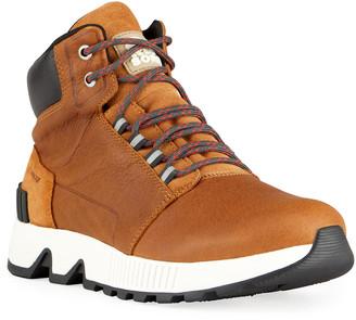 Sorel Men's Mac Hill Waterproof Leather Sneaker Boots