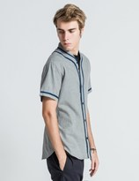 "De-Luxe DELUXE Grey ""Stickball"" Shirts"