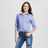 Merona Women's Collared Button Down Shirt