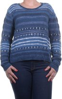 Polo Ralph Lauren Women's Striped Linen Blend Sweater [L] []