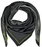 Laura Biagiotti Women's Black Silk Scarf.