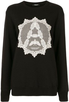 Undercover Lace Print Jumper