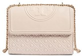 Tory Burch 'Fleming' Convertible Shoulder Bag - Beige