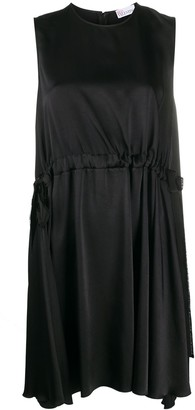 RED Valentino Drawstring Waist Shift Dress