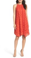 Maggy London Women's Lace Trapeze Dress