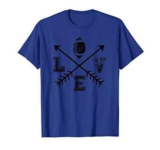 Football Love Sport Arrow T-Shirt