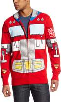 Transformers Men's Optimus Costume Hoodie