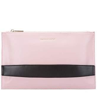 Smith & Canova Womens Zip Top Hand Strap Clutch Bag Clutch
