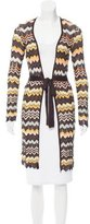 Missoni Long Sleeve Open-Front Cardigan