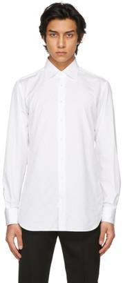 Husbands White Classic Collar Shirt