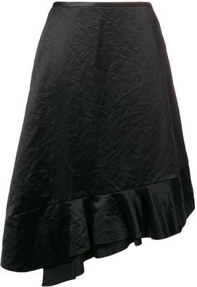Comme Des Garçons Pre-Owned 1990's Asymmetric Ruffled Skirt