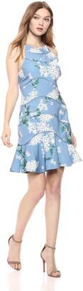 Keepsake Women's Wild Thoughts Ruffle Hem Floral Mini Dress