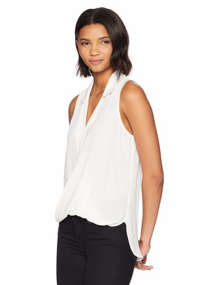 LIKELY Women's Mason Sleeveless Half Tuck Blouse