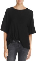 Michelle by Comune Lincolnshire Ruffle-Sleeve Tee