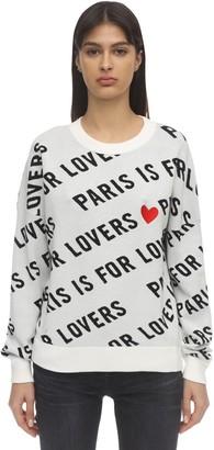 Zadig & Voltaire Cotton Intarsia Knit Sweater