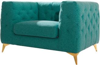 Chic Home Soho Green Club Chair
