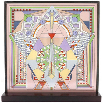 Frank Lloyd Wright Ytc Collection Imperial Hotel Peacock Rug Stained Glass