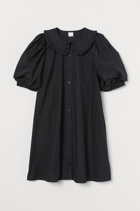 H&M Collared Dress - Black