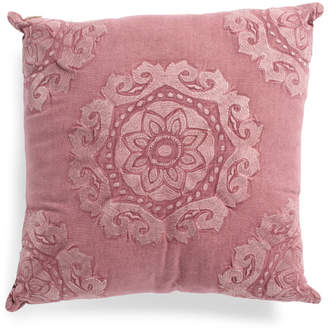 20x20 Stone Washed Medallion Pillow