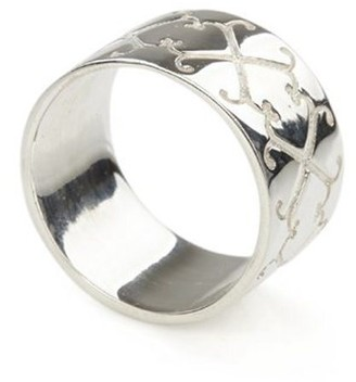 Jewel Tree London Logo Ring Sterling Silver