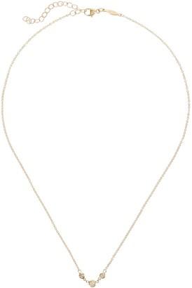Jacquie Aiche Three Diamond Emily Necklace