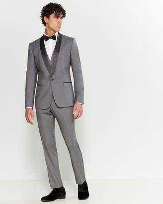 Dolce & Gabbana 3-Piece Melange Grey Wool-Blend Tuxedo