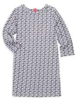 Vineyard Vines Toddler's, Little Girl's & Girl's Etched Whale Dress