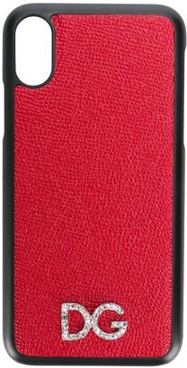 Dolce & Gabbana logo Iphone X cover