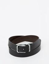 BOSS ORANGE Reversible Casual Leather Julle Belt