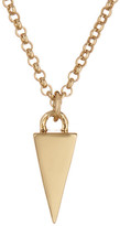 Melinda Maria Single Pyramid Pendant Necklace