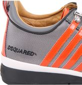 DSQUARED2 Nylon And Suede Sneakers