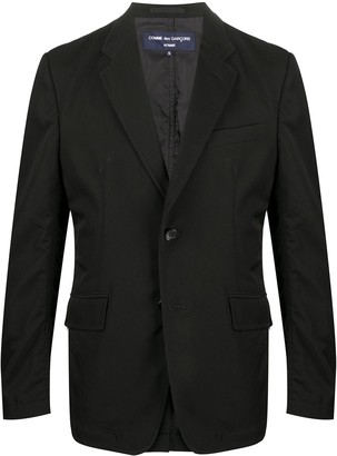Comme des Garçons Homme Fitted Single-Breasted Jacket