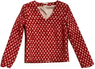 J.W.Anderson Red Synthetic Tops