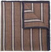 Eleventy striped print scarf