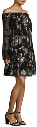 Kobi Halperin Ainsley Off-the-Shoulder Dress