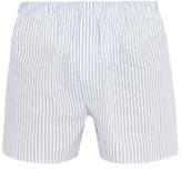 Sunspel Line Stripe-print Cotton Boxer Shorts