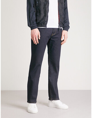 Emporio Armani J21 Comfort regular-fit straight jeans