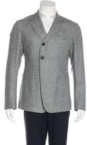 Alexander McQueen Single-Button Wool-Blend Jacket