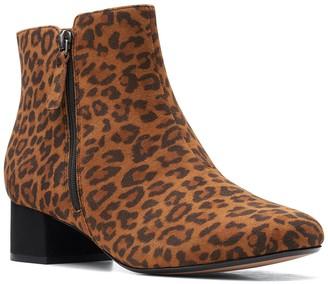 Clarks Marilyn Leopard Boot