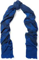 McQ by Alexander McQueen Printed wool-blend scarf