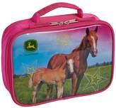 John Deere Girls Photoreal Horse Insulated Lunchbox