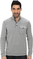 Lucky Brand Men's French Rib Mock Neck