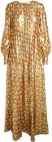 Tory Burch Bea Metallic Long Dress