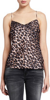 Paige Cicely Leopard-Print Cami