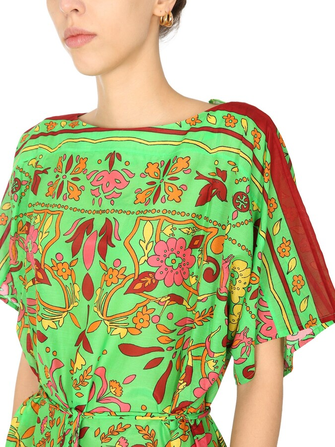 Thumbnail for your product : Tory Burch Caftan With Floral Pattern