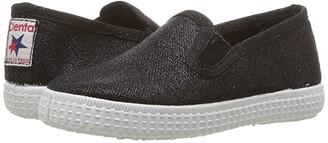 Cienta 57013 (Infant/Toddler/Little Kid/Big Kid) (Black) Girl's Shoes