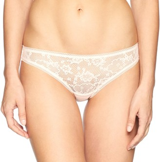 OnGossamer Women's Racy Lace Hip Bikini Panty