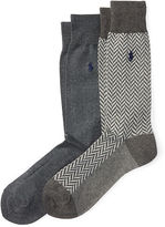 Polo Ralph Lauren Stretch Trouser Sock 2-Pack